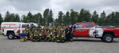Ontario Mine Rescue Azilda ON June 16,  2017