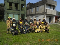Multi Fire Burearu Training at Koahsuing City Burn Facility Taiwan February 22 2016