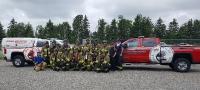 Ontario Mine Rescue Azilda ON June 16,  2017
