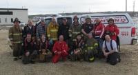 Peace River Regional Fire Chiefs 2013 Training Alberta CA April 12, 2013