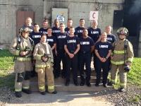 St Paul MN  FD Recruit Class June 10 2015