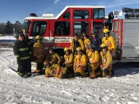 Wolfville FD NS Canada January 21, 2018