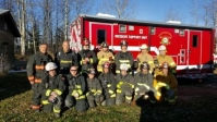Yellowhead County Fire & Rescue Edson Alberta Canada October 16 2015